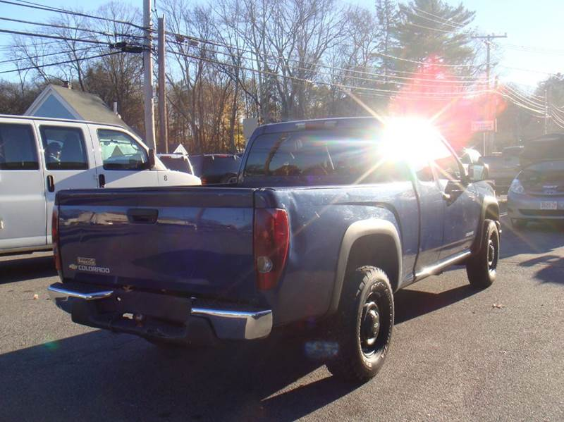 2005 Chevrolet Colorado 4dr Extended Cab Z85 4WD SB - Holliston MA
