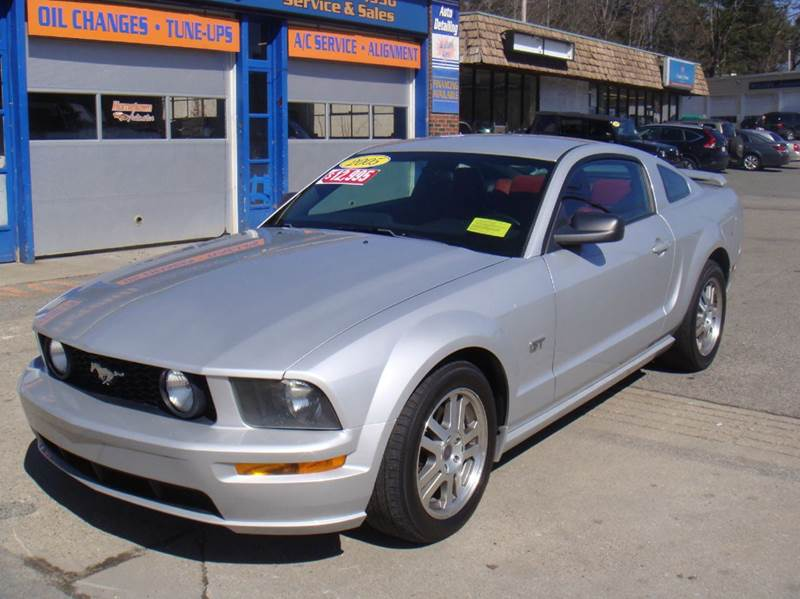 2005 Ford Mustang GT Premium 2dr Coupe - Holliston MA