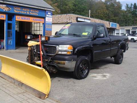 2001 GMC Sierra 2500HD for sale in Holliston, MA