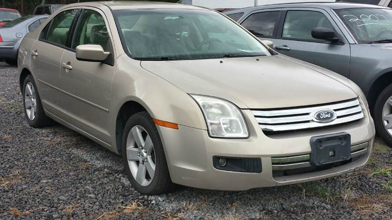 2007 Ford Fusion I-4 SE 4dr Sedan - Darlington PA