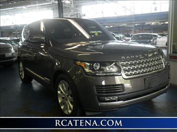 2016 Land Rover Range Rover for sale in Teterboro, NJ