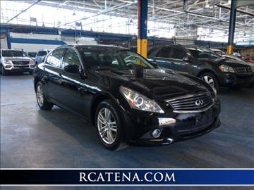 2012 Infiniti G25 Sedan for sale in Teterboro, NJ
