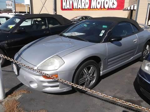 2003 Mitsubishi Eclipse Spyder for sale in Hayward, CA
