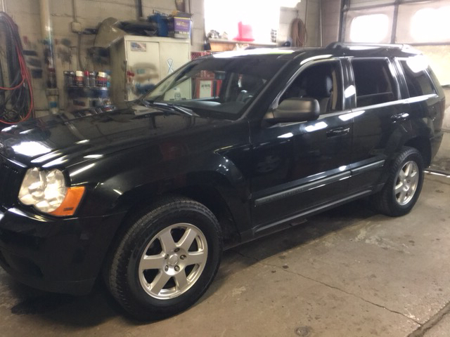 2009 jeep grand cherokee laredo 4x4 4dr suv in wayne mi j j used cars inc. Black Bedroom Furniture Sets. Home Design Ideas