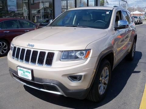 2014 Jeep Grand Cherokee for sale in Leominster MA