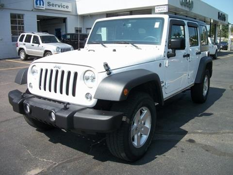 2016 Jeep Wrangler Unlimited for sale in Leominster MA