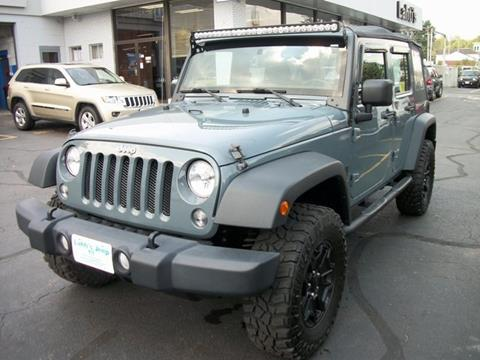2014 Jeep Wrangler Unlimited for sale in Leominster MA