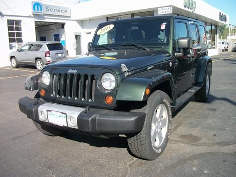 2011 Jeep Wrangler Unlimited for sale in Leominster MA