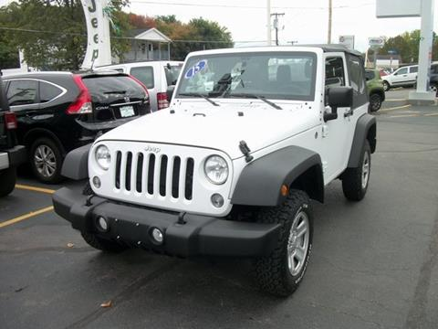 2015 Jeep Wrangler for sale in Leominster MA
