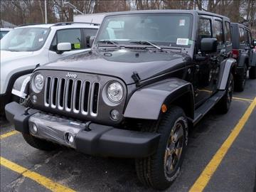 2017 Jeep Wrangler Unlimited for sale in Leominster, MA