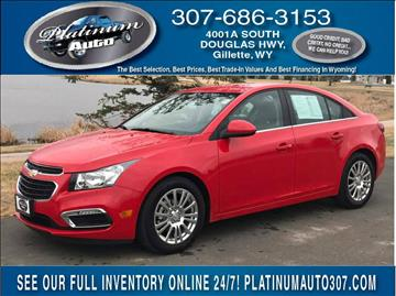 2016 Chevrolet Cruze Limited for sale in Gillette, WY