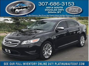 2011 Ford Taurus for sale in Gillette, WY