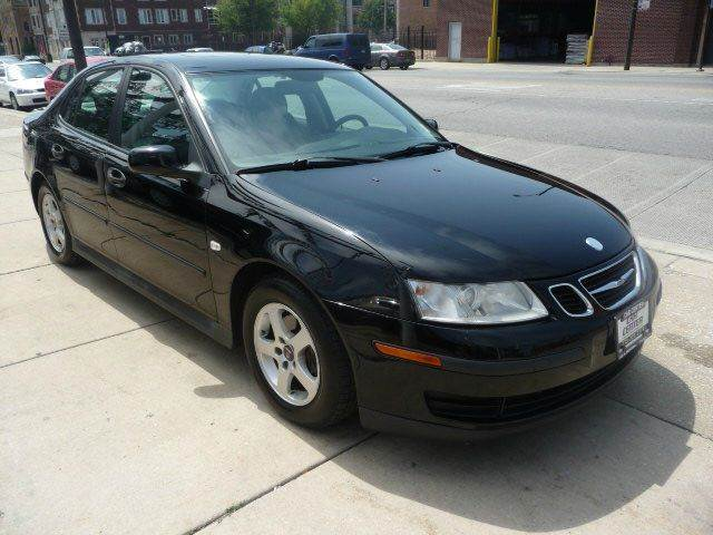 2004 saab 9 3 4dr linear turbo sedan in chicago il car. Black Bedroom Furniture Sets. Home Design Ideas