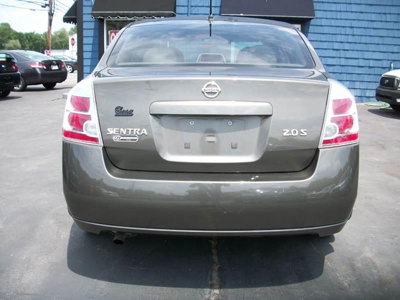 2007 Nissan Sentra 2.0 S 4dr Sedan (2L I4 CVT) - Raynham MA