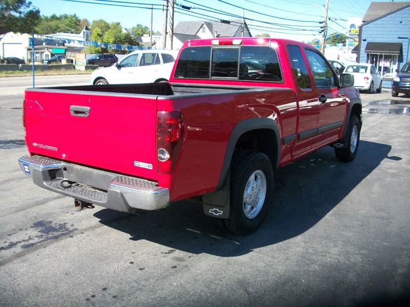 2006 Chevrolet Colorado 4dr Extended Cab 4wd Sb In Raynham