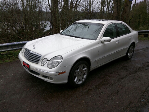 2003 mercedes benz e class for sale in washington for Mercedes benz for sale seattle