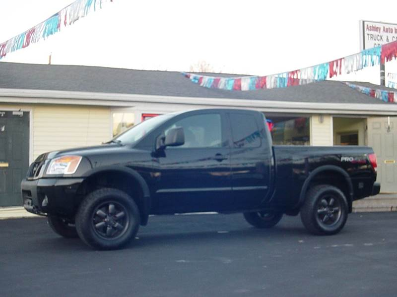 2008 nissan titan pro 4x 4x4 king cab short bed 4dr in watervliet ny ashley auto inc. Black Bedroom Furniture Sets. Home Design Ideas