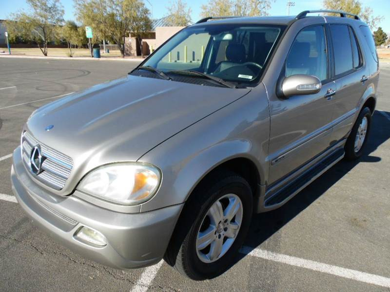 2005 mercedes benz m class awd ml350 4matic 4dr suv in las