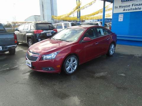 2013 Chevrolet Cruze $249 a month