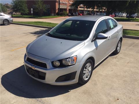 2015 Chevrolet Sonic for sale in Spring, TX