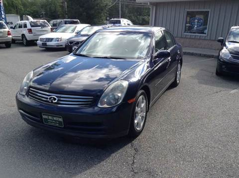 2003 Infiniti G35 for sale in Mine Hill, NJ