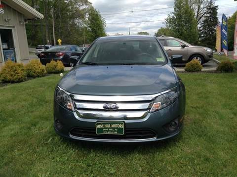 2011 Ford Fusion for sale in Mine Hill, NJ