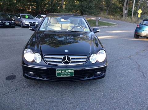 2007 Mercedes-Benz CLK for sale in Mine Hill, NJ