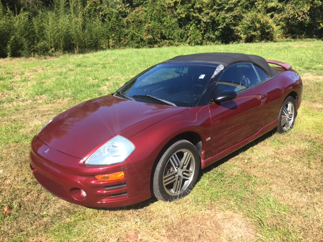 2005 mitsubishi eclipse spyder gts 2dr convertible in high point nc cars that go. Black Bedroom Furniture Sets. Home Design Ideas