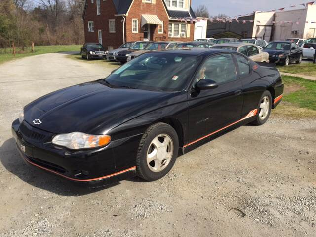 2005 chevrolet monte carlo supercharged ss 2dr coupe in high point nc cars that go. Black Bedroom Furniture Sets. Home Design Ideas