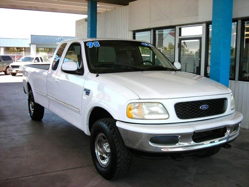 1998 Ford F-150 3dr XLT 4WD Extended Cab LB - Tucson AZ