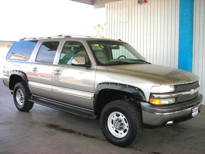 2002 Chevrolet Suburban 2500 Lt 4wd 4dr Suv In Tucson Az