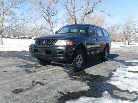 2001 Mitsubishi Montero Sport for sale in Ogden UT