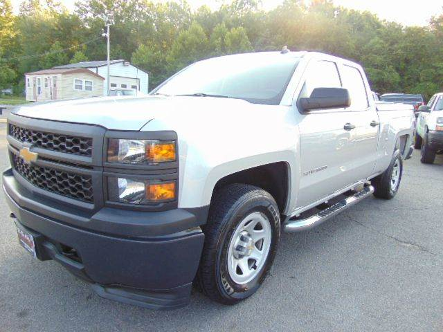 2014 Chevrolet Silverado 1500 W/T2 Double Cab 4x4 Short Bed - Locust Grove VA