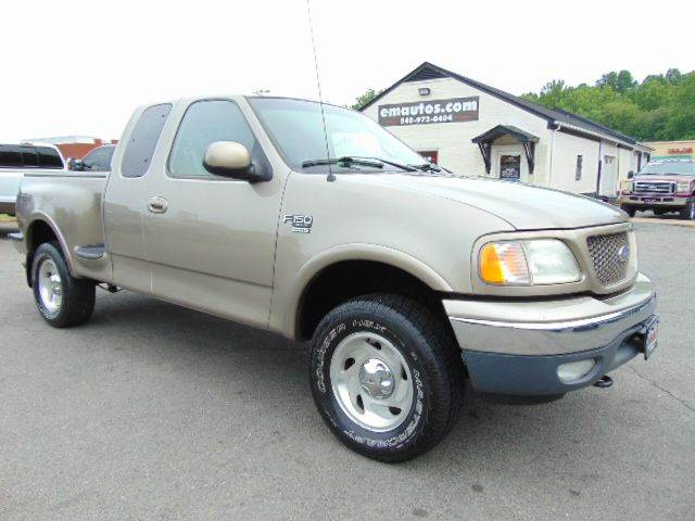 2001 Ford F-150 XLT Ext Cab 4x4 Style Side Short Bed - Locust Grove VA