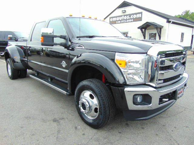 2014 Ford F-450 Super Duty Lariat Crew Cab 4x4 DRW Long Bed - Locust Grove VA