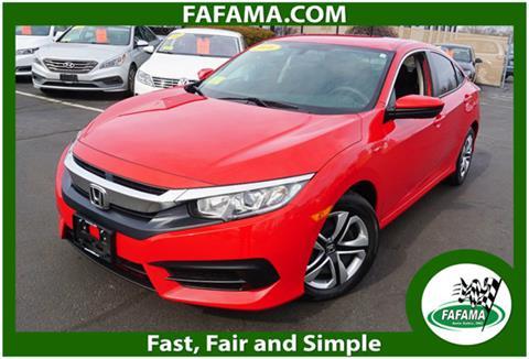 2016 Honda Civic for sale in Milford, MA