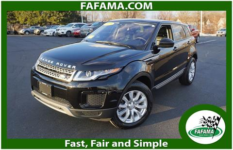 Land Rover Milford >> 2018 Land Rover Range Rover Evoque For Sale In Milford Ma