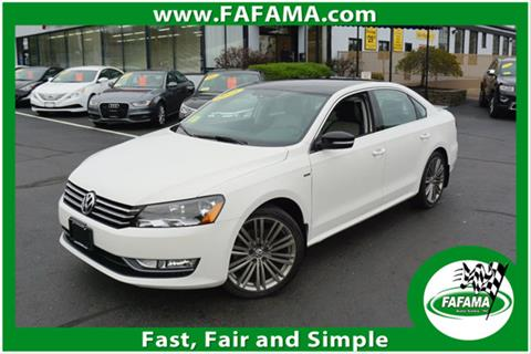 2015 Volkswagen Passat for sale in Milford, MA