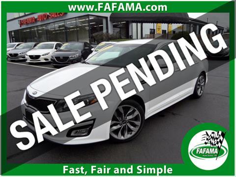2015 Kia Optima for sale in Milford, MA