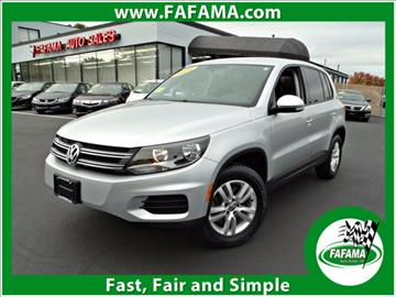2014 Volkswagen Tiguan for sale in Milford, MA