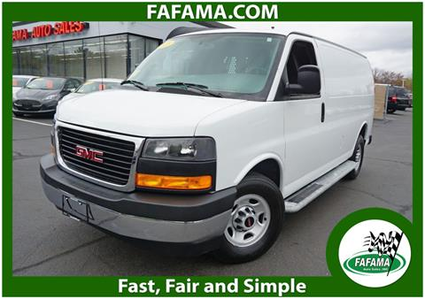 2018 GMC Savana Cargo for sale in Milford, MA