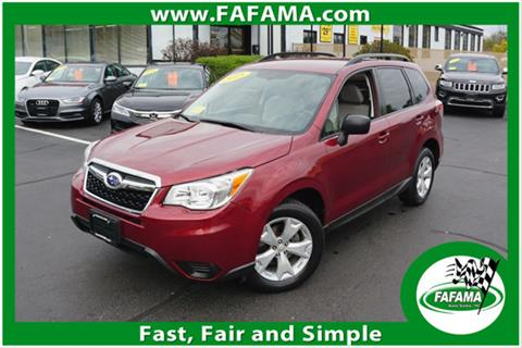 2015 Subaru Forester for sale in Milford, MA