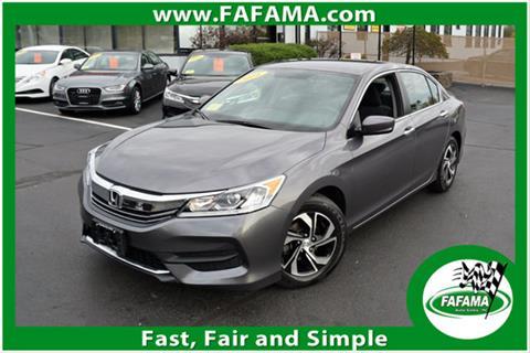 2016 Honda Accord for sale in Milford, MA