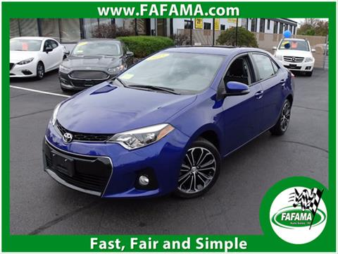 2015 Toyota Corolla for sale in Milford, MA