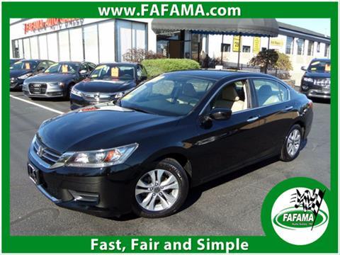 2014 Honda Accord for sale in Milford, MA
