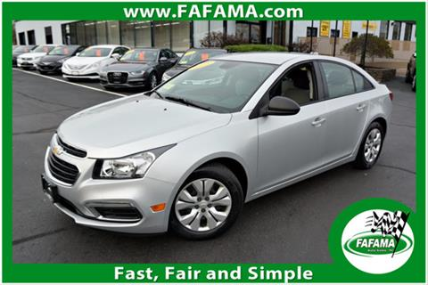 2016 Chevrolet Cruze Limited for sale in Milford, MA