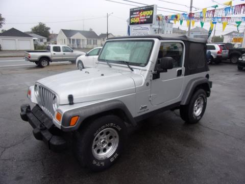 2004 Jeep Wrangler for sale in Fall River, MA