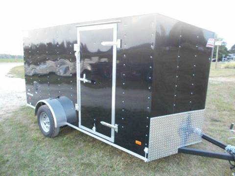2017 American Hauler 6 X 12 Night Hawk