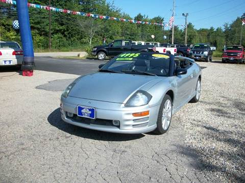2002 Mitsubishi Eclipse Spyder for sale in Rochester, NH