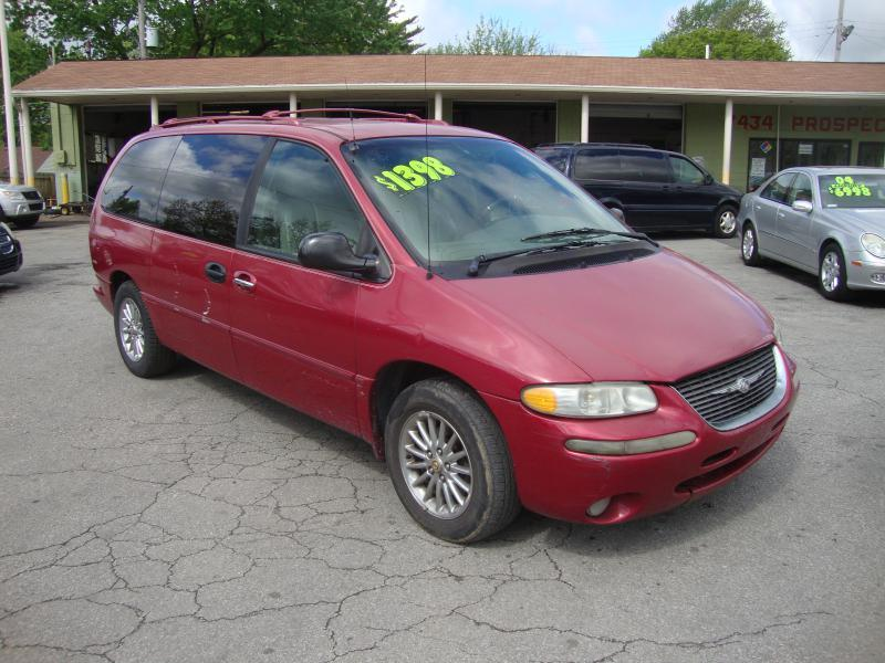 1999 chrysler town and country 4dr limited extended mini van in kansas city mo not so new llc. Black Bedroom Furniture Sets. Home Design Ideas